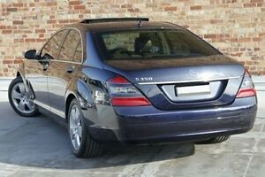 2006 Mercedes-Benz S350 W221 Blue 7 Speed Automatic Sedan North Melbourne Melbourne City Preview
