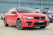 2012 Kia Cerato TD MY12 Koup SI Red 6 Speed Sports Automatic Coupe Baulkham Hills The Hills District Preview
