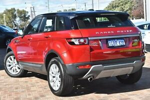 2015 Land Rover Range Rover Evoque L538 MY15 TD4 Pure Red 9 Speed Sports Automatic Wagon Osborne Park Stirling Area Preview