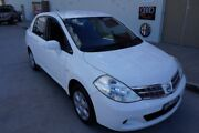 2011 Nissan Tiida C11 S3 ST White Automatic Sedan Elderslie Camden Area Preview