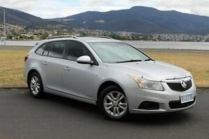 2014 Holden Cruze JH Series II MY14 CD Sportwagon Silver 6 Speed Sports Automatic Wagon Invermay Launceston Area Preview