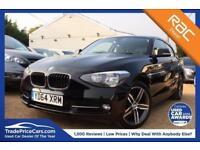 2014 64 BMW 1 SERIES 1.6 116I SPORT 3D 135 BHP