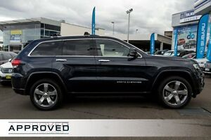 2013 Jeep Grand Cherokee WK MY2013 Overland Black 5 Speed Sports Automatic Wagon Brookvale Manly Area Preview