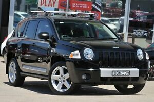2007 Jeep Compass MK Limited Black 5 Speed Manual Wagon Dee Why Manly Area Preview