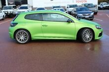 2012 Volkswagen Scirocco 1S MY12 R Coupe Green 6 Speed Manual Hatchback Balcatta Stirling Area Preview