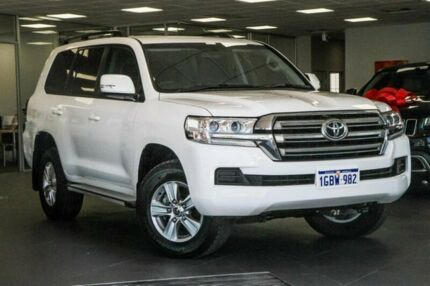 2016 Toyota Landcruiser VDJ200R GXL White 6 Speed Sports Automatic Wagon Bellevue Swan Area Preview
