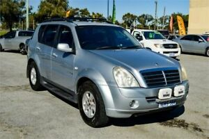 2007 Ssangyong Rexton Y200 MY07 RX270 Sports Silver 5 Speed Auto Steptronic Wagon Rockingham Rockingham Area Preview