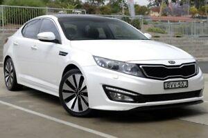 2011 Kia Optima TF Platinum White 6 Speed Automatic Sedan Lisarow Gosford Area Preview