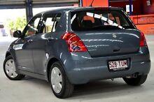 2008 Suzuki Swift EZ 07 Update Grey 5 Speed Manual Hatchback Coopers Plains Brisbane South West Preview