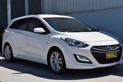 2014 Hyundai i30 GD Active Tourer White 6 Speed Sports Automatic Wagon Rutherford Maitland Area Preview