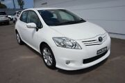 2011 Toyota Corolla ZRE152R MY11 Ascent White 6 Speed Manual Hatchback Cardiff Lake Macquarie Area Preview