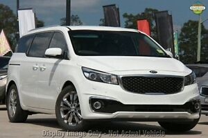 2016 Kia Carnival YP MY16 Update Platinum Clear White 6 Speed Automatic Wagon East Rockingham Rockingham Area Preview