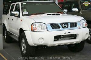 2011 Nissan Navara D22 S5 ST-R White 5 Speed Manual Utility Osborne Park Stirling Area Preview