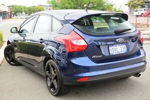 2012 Ford Focus LW MKII Titanium PwrShift Blue 6 Speed Sports Automatic Dual Clutch Hatchback Willagee Melville Area Preview