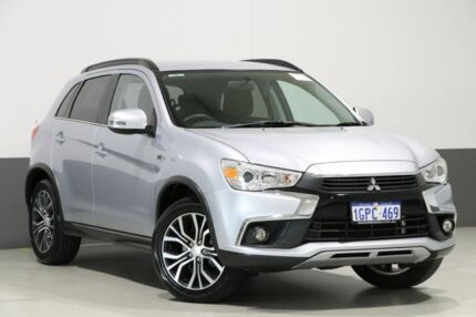 2017 Mitsubishi ASX XC MY17 LS (2WD) Silver Continuous Variable Wagon Bentley Canning Area Preview