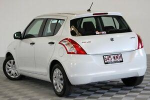 2012 Suzuki Swift FZ GA White 4 Speed Automatic Hatchback Coopers Plains Brisbane South West Preview