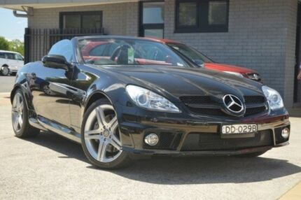 2010 Mercedes-Benz SLK300 R171 MY10 7G-Tronic Black 7 Speed Sports Automatic Roadster Hillcrest Port Adelaide Area Preview