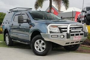 2014 Ford Ranger PX XLS Double Cab Blue 6 Speed Sports Automatic Utility Kedron Brisbane North East Preview