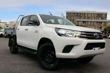 2015 Toyota Hilux GUN126R SR Double Cab Glacier White 6 Speed Sports Automatic Utility Northbridge Perth City Preview