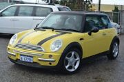 2002 Mini Hatch R50 Cooper Yellow 6 Speed Constant Variable Hatchback Pearsall Wanneroo Area Preview