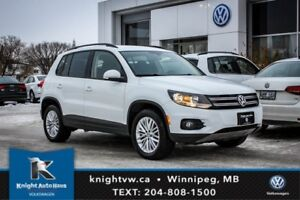 2016 Volkswagen Tiguan SE AWD w/ Backup Cam 0.99% Financing Avai