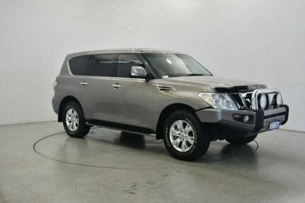 2014 Nissan Patrol Y62 ST-L Grey 7 Speed Sports Automatic Wagon Victoria Park Victoria Park Area Preview