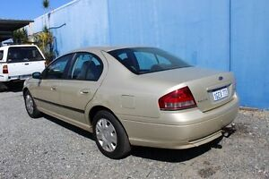 2006 Ford Falcon BF Gold 4 Speed Automatic Sedan