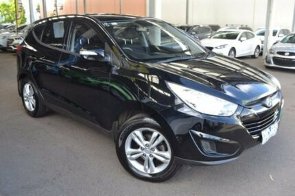 2011 Hyundai ix35 LM MY11 Active Black 6 Speed Sports Automatic Wagon Hoppers Crossing Wyndham Area Preview