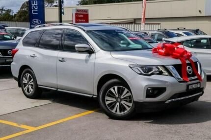 2017 Nissan Pathfinder R52 Series II MY17 ST-L X-tronic 4WD Silver 1 Speed Constant Variable Wagon Pennant Hills Hornsby Area Preview