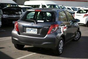 2012 Toyota Yaris Grey Automatic Hatchback Frankston Frankston Area Preview