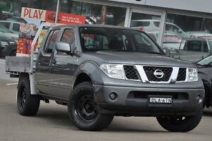 2014 Nissan Navara D40 MY13 RX (4x4) Grey 6 Speed Manual Dual C/Chas Dee Why Manly Area Preview