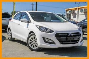 2015 Hyundai i30 GD3 Series II MY16 Active DCT White 7 Speed Sports Automatic Dual Clutch Hatchback Aspley Brisbane North East Preview