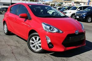 2015 Toyota Prius c NHP10R i-Tech E-CVT Cherry 1 Speed Constant Variable Hatchback Northbridge Perth City Area Preview