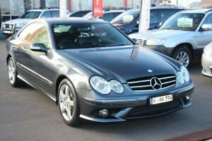 2009 Mercedes-Benz CLK280 C209 MY08 Avantgarde Grey 7 Speed Automatic Coupe Cheltenham Kingston Area Preview