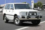2004 Toyota Landcruiser HDJ100R GXL White 5 Speed Automatic Wagon Adelaide CBD Adelaide City Preview