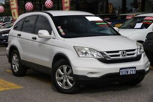 2010 Honda CR-V RE MY2010 4WD White 5 Speed Automatic Wagon Willagee Melville Area Preview