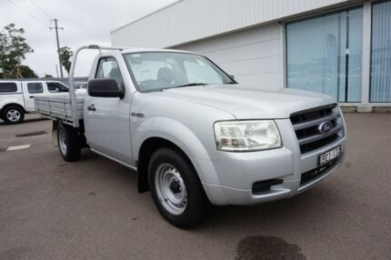 2007 Ford Ranger PJ XL 4x2 Silver 5 Speed Manual Cab Chassis Cardiff Lake Macquarie Area Preview