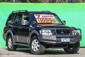2004 Mitsubishi Pajero NP MY05 Exceed Blue 5 Speed Sports Automatic Wagon Ringwood East Maroondah Area Preview