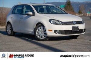 2013 Volkswagen Golf Highline TDI BC CAR, LOW KM, DIESEL!