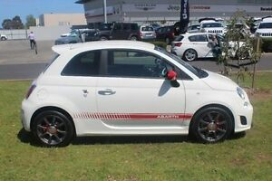 2016 Abarth 595 Series 3 White 5 Speed Manual Hatchback Hallam Casey Area Preview