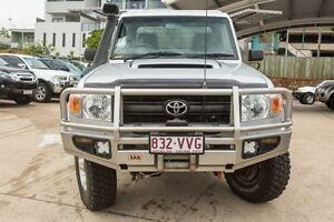 2010 Toyota Landcruiser VDJ79R MY10 GX Silver 5 Speed Manual Cab Chassis Mount Gravatt Brisbane South East Preview