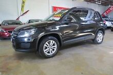 2014 Volkswagen Tiguan  Black Sports Automatic Dual Clutch Wagon Fyshwick South Canberra Preview