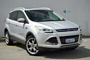 2016 Ford Kuga TF MY16.5 Titanium PwrShift AWD Silver 6 Speed Sports Automatic Dual Clutch Wagon Midland Swan Area Preview