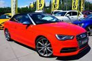2014 Audi S3 8V MY15 S tronic quattro Red 6 Speed Sports Automatic Dual Clutch Cabriolet Pearce Woden Valley image 2