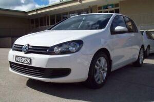2012 Volkswagen Golf 1K MY12 118 TSI Comfortline White 7 Speed Auto Direct Shift Hatchback