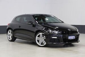 2012 Volkswagen Scirocco 1S R Black 6 Speed Direct Shift Coupe Bentley Canning Area Preview