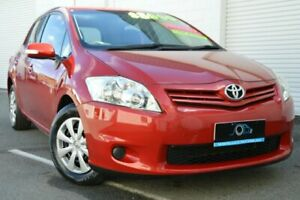 2009 Toyota Corolla ZRE152R MY09 Ascent Red 6 Speed Manual Hatchback Ashmore Gold Coast City Preview