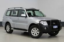 2013 Mitsubishi Pajero NW MY13 GLX-R LWB (4x4) Silver 5 Speed Auto Sports Mode Wagon Bentley Canning Area Preview