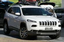 2016 Jeep Cherokee KL MY16 Limited (4x4) Bright White 9 Speed Automatic Wagon Mosman Mosman Area Preview