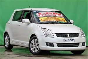 2010 Suzuki Swift RS415 RE4 White Pearl 5 Speed Manual Hatchback Ringwood East Maroondah Area Preview